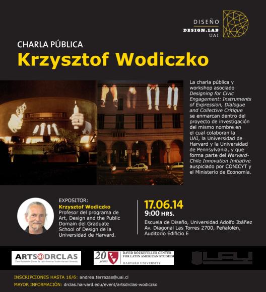 Charla de Krzysztof Wodiczko en Chile / UAI