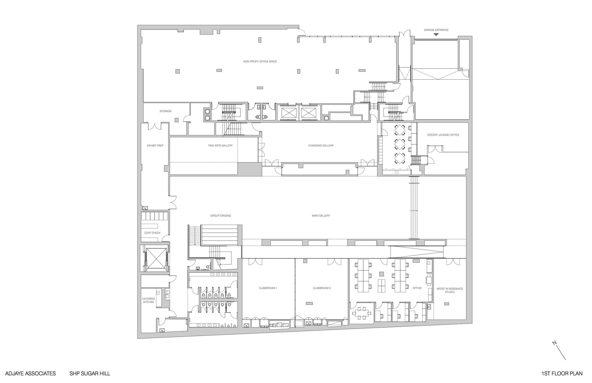 Gallery of david adjaye 39 s sugar hill development a new for Affordable housing floor plans