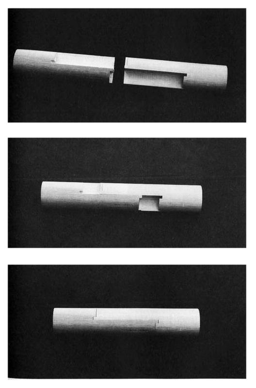 "Empalme en forma de almeja. ""Kai No Guchi"". Image Courtesy of Torashichi Sumiyoshi y Gengo Matsui"