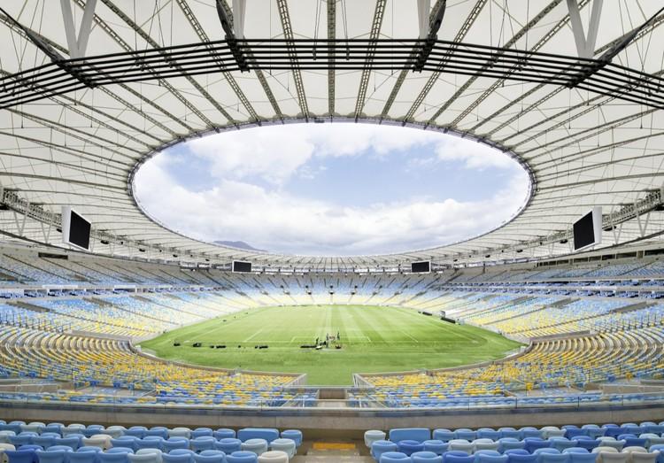 Estructura De Cubierta Del Estadio Maracan 225 Schlaich