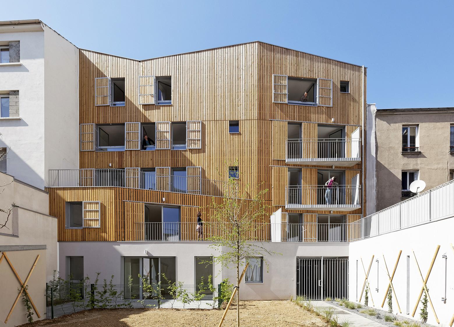 8 Housing in Patin / Benjamin Fleury, © David Boureau