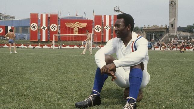 Pelé en 'Escape a la victoria' / 'Evasión o victoria' [España] (1981). Image