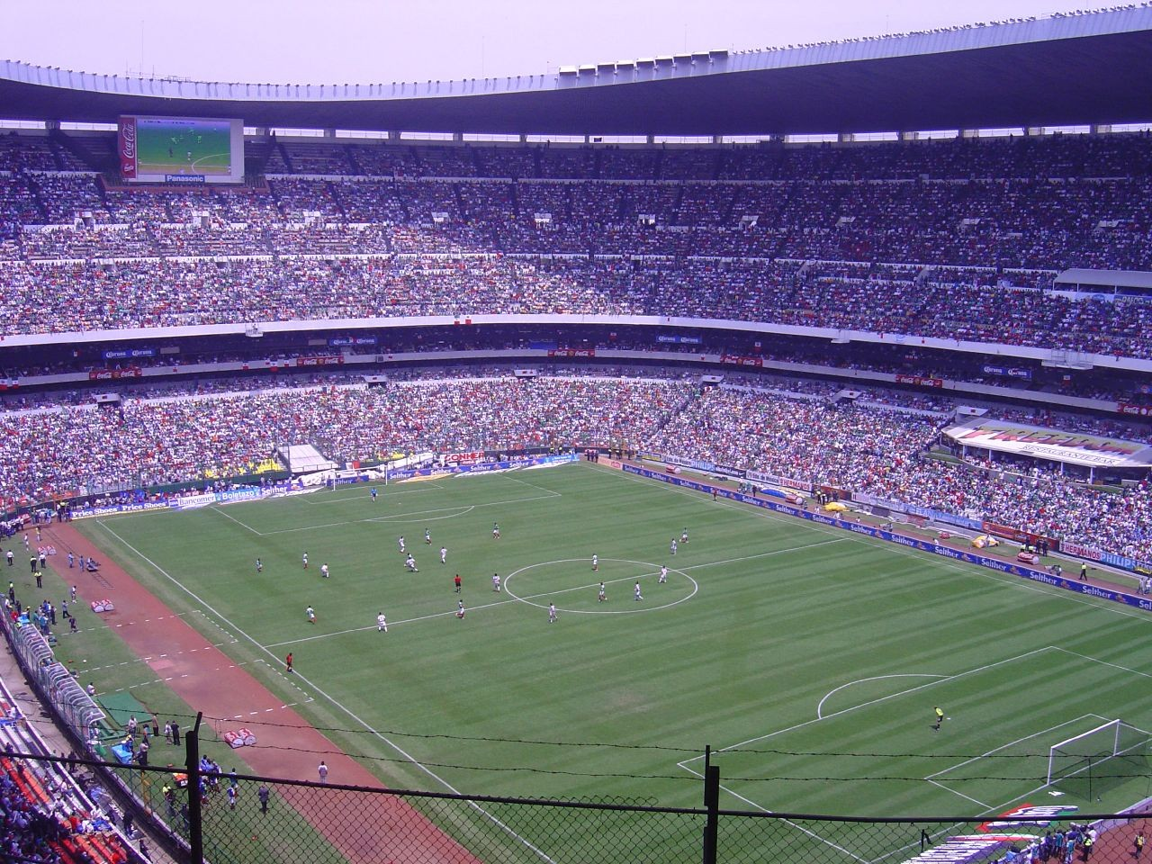 Estadio Azteca. Image © Heriberto Cortés Bravo [Flickr]