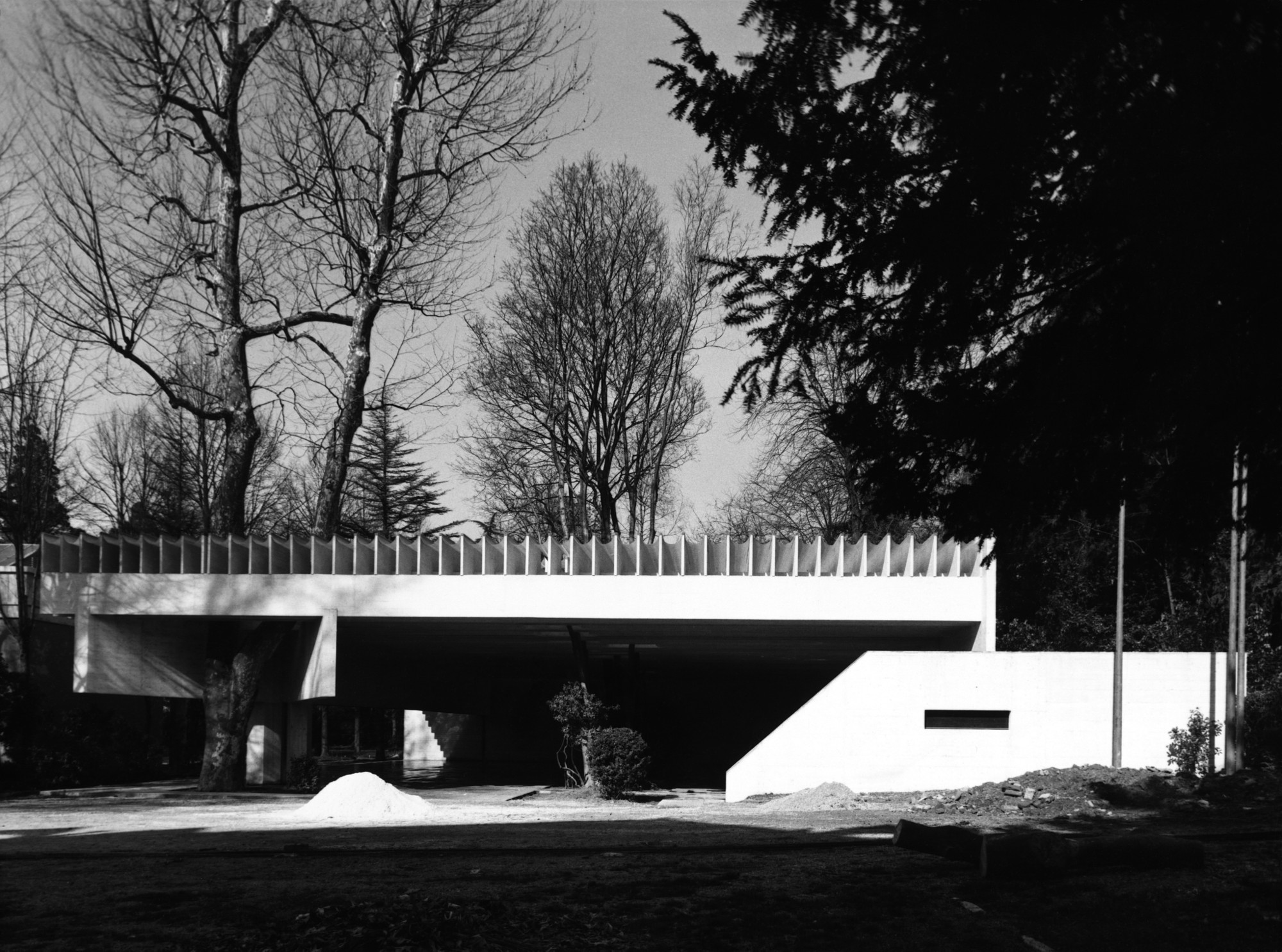 Sverre Fehn's Drawings for Venice's Nordic Pavilion To Be Exhibited in Oslo, © Ferruzzi