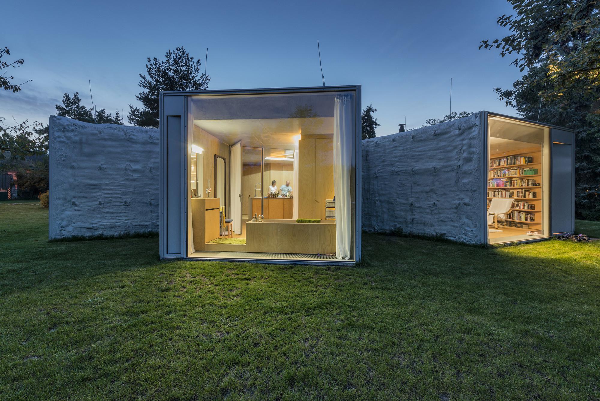 Chameleon House  / Petr Hajek Architekti, © Benedikt Markel