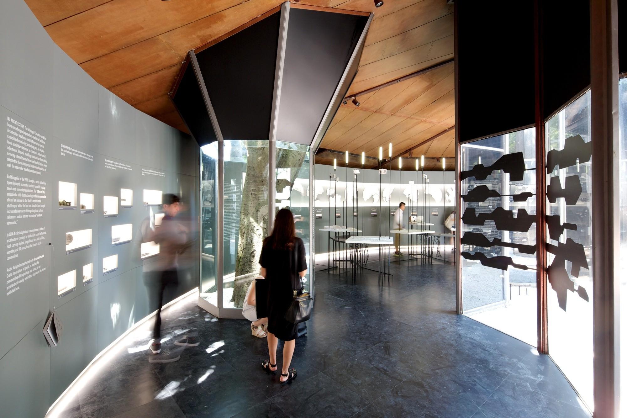 Canada Pavilion. Image © Nico Saieh