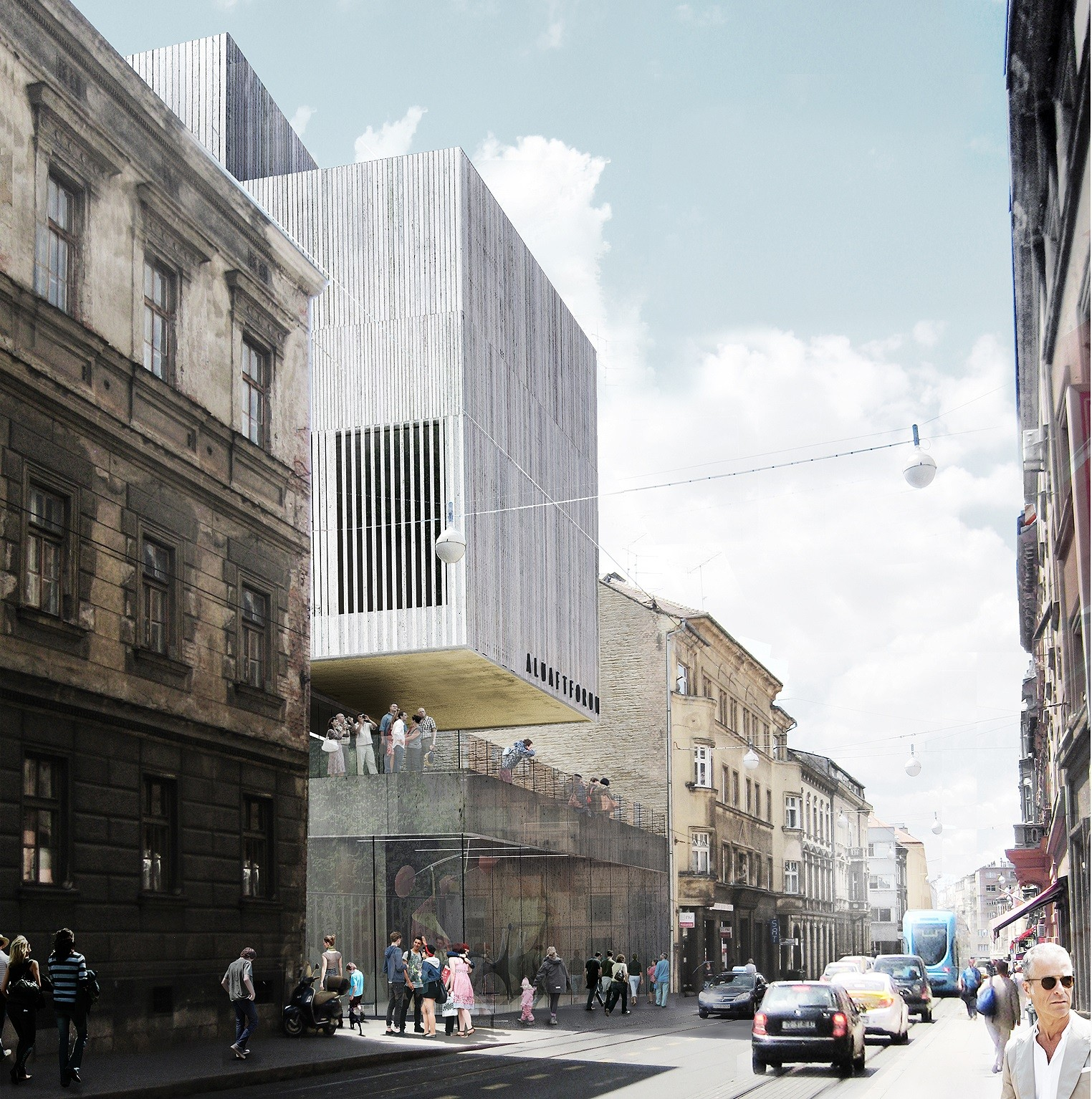 Multiplan Arhitekti Wins Competition for New Gallery in Zagreb, © Jan Jazbec