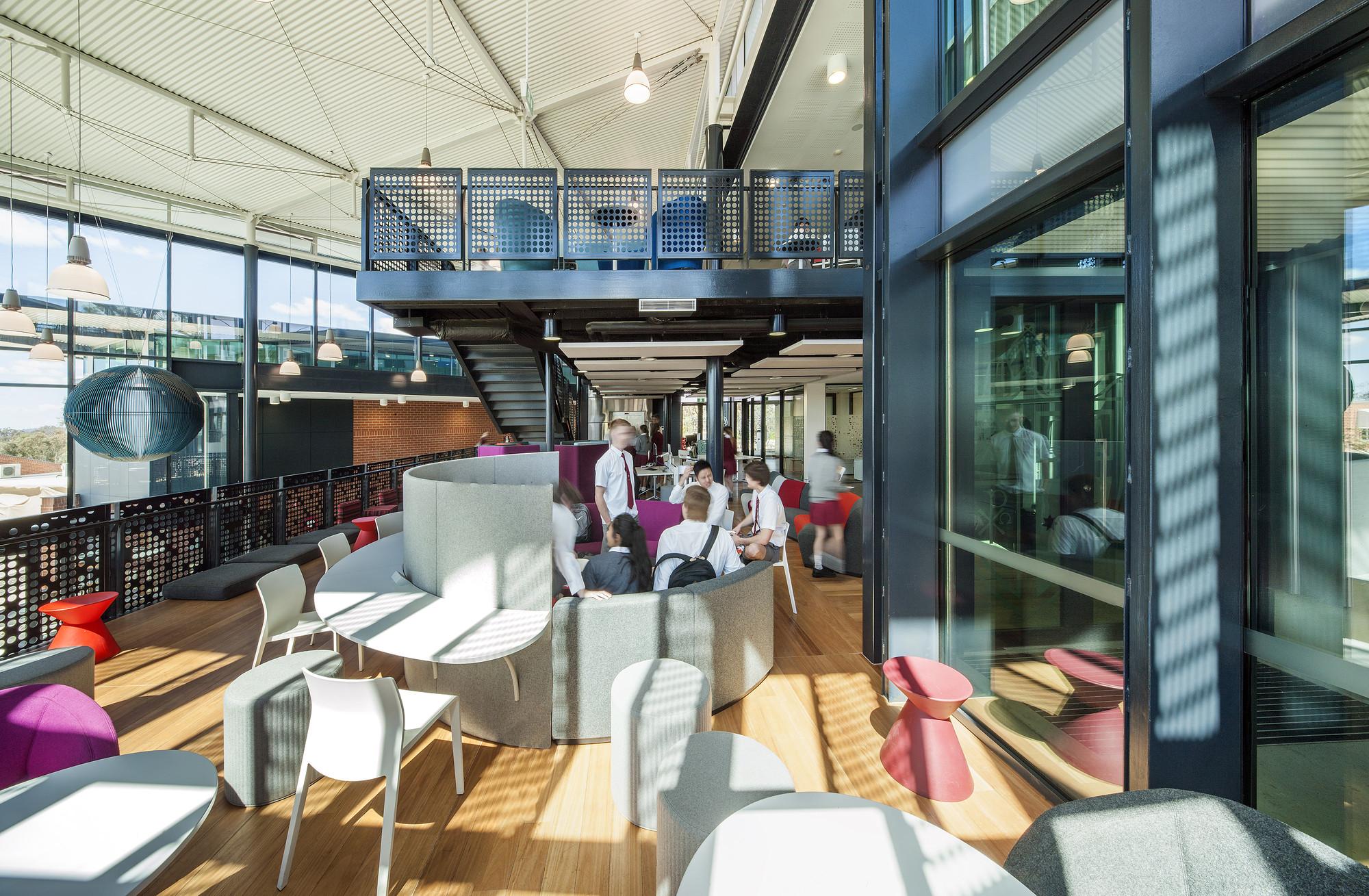 Commendation – Radford College–Radford Senior School by Cox Architecture. Image © Ben Wrigley