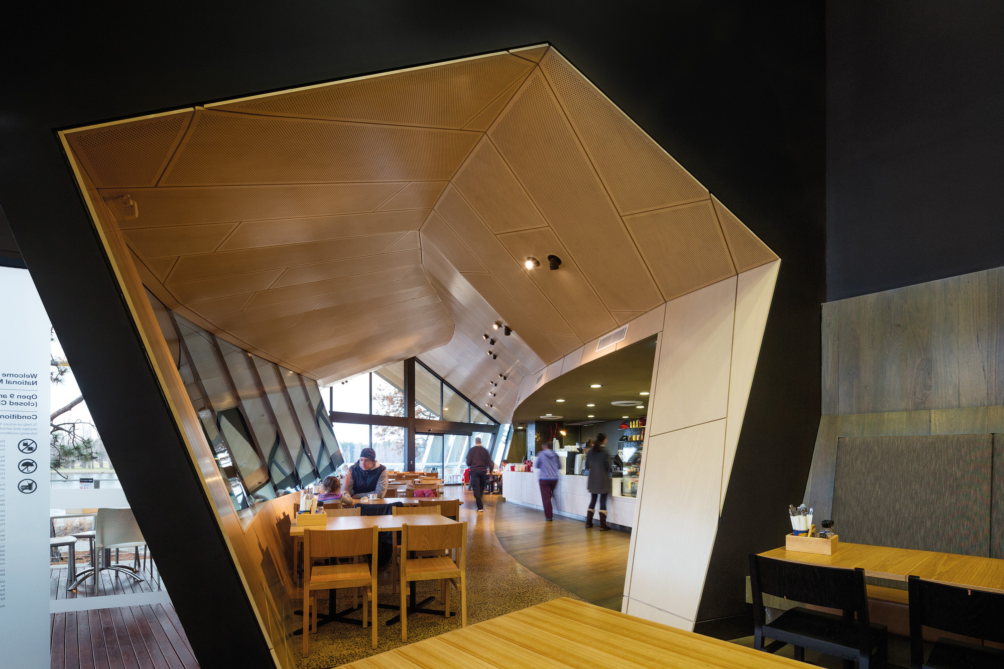 Award – National Museum of Australia – Additions by ARM Architecture. Image © John Gollings