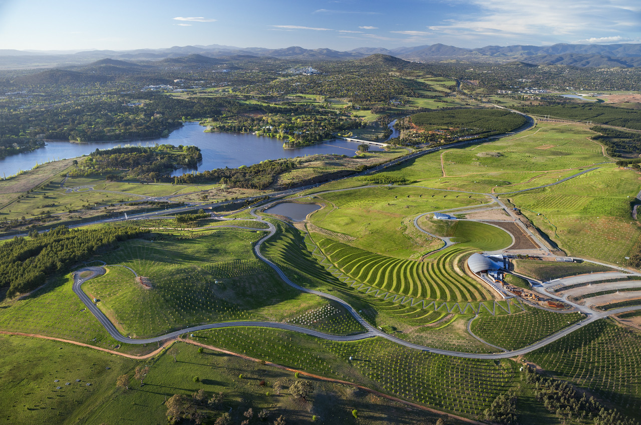 Gallery of australian institute of architects announces for Landscape architect canberra