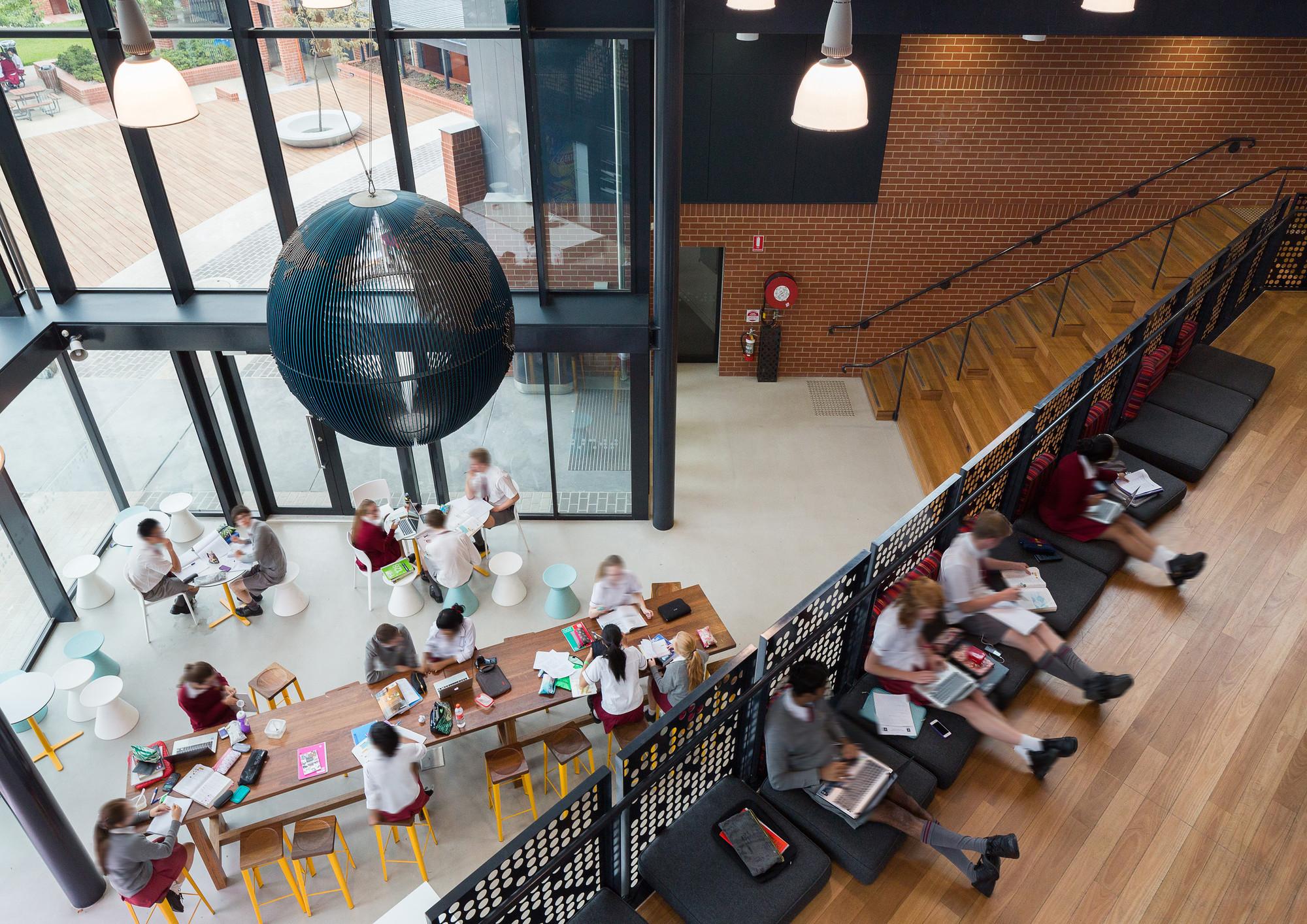 Commendation – Radford College–Radford Senior School by Cox Architecture. Image © Rodrigo Vargas