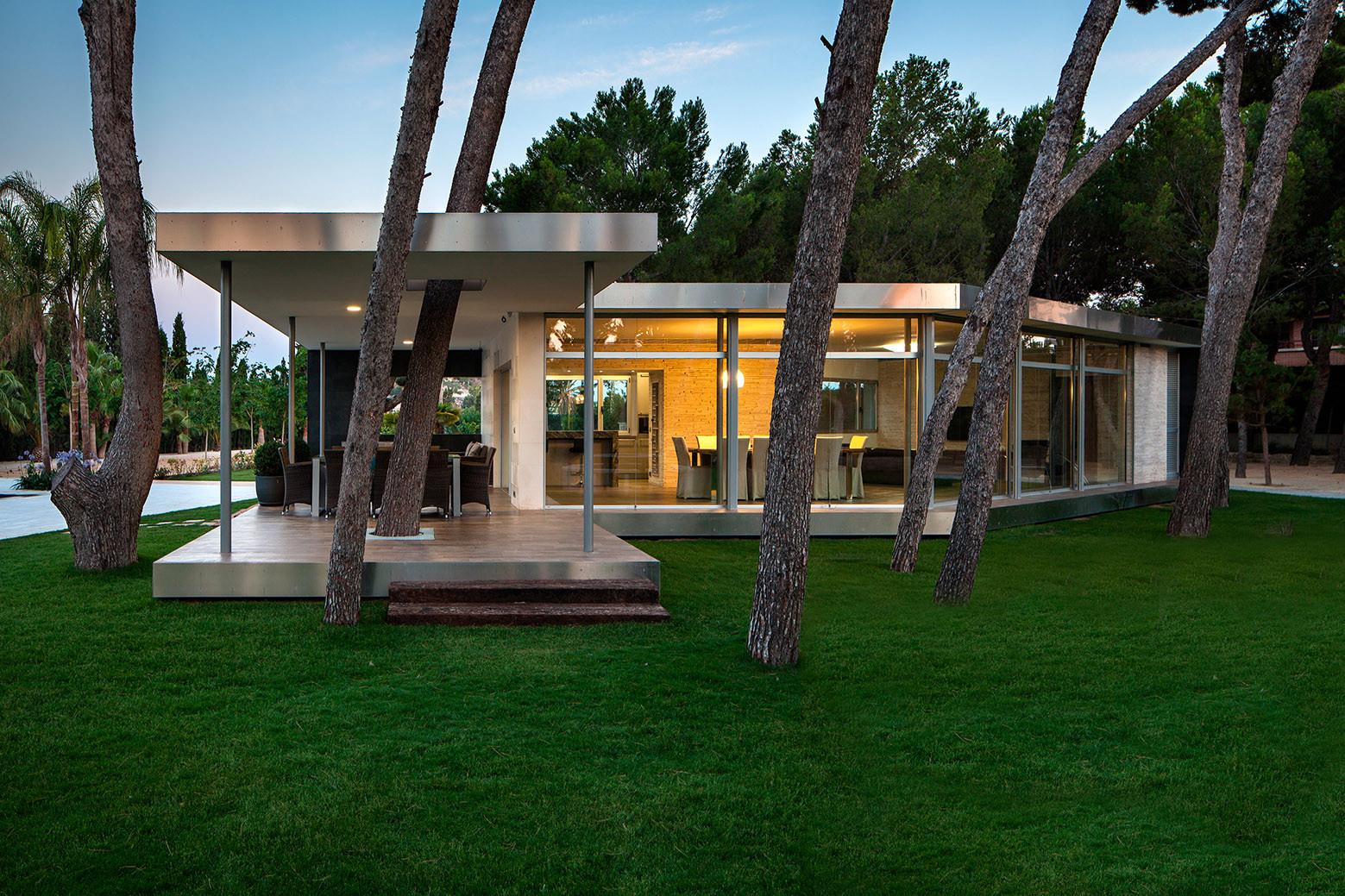 Pine Forest Pavilion / e2b arquitectos, © Enrique Agües