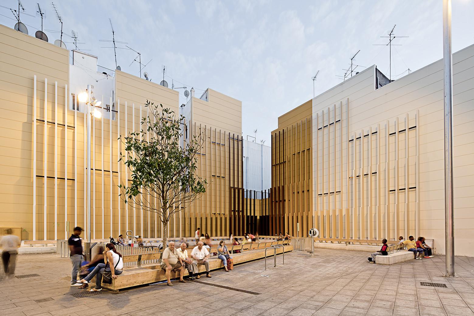 Ampliación de la plaza Espanyola / Noemí Martínez, © Adrià Goula