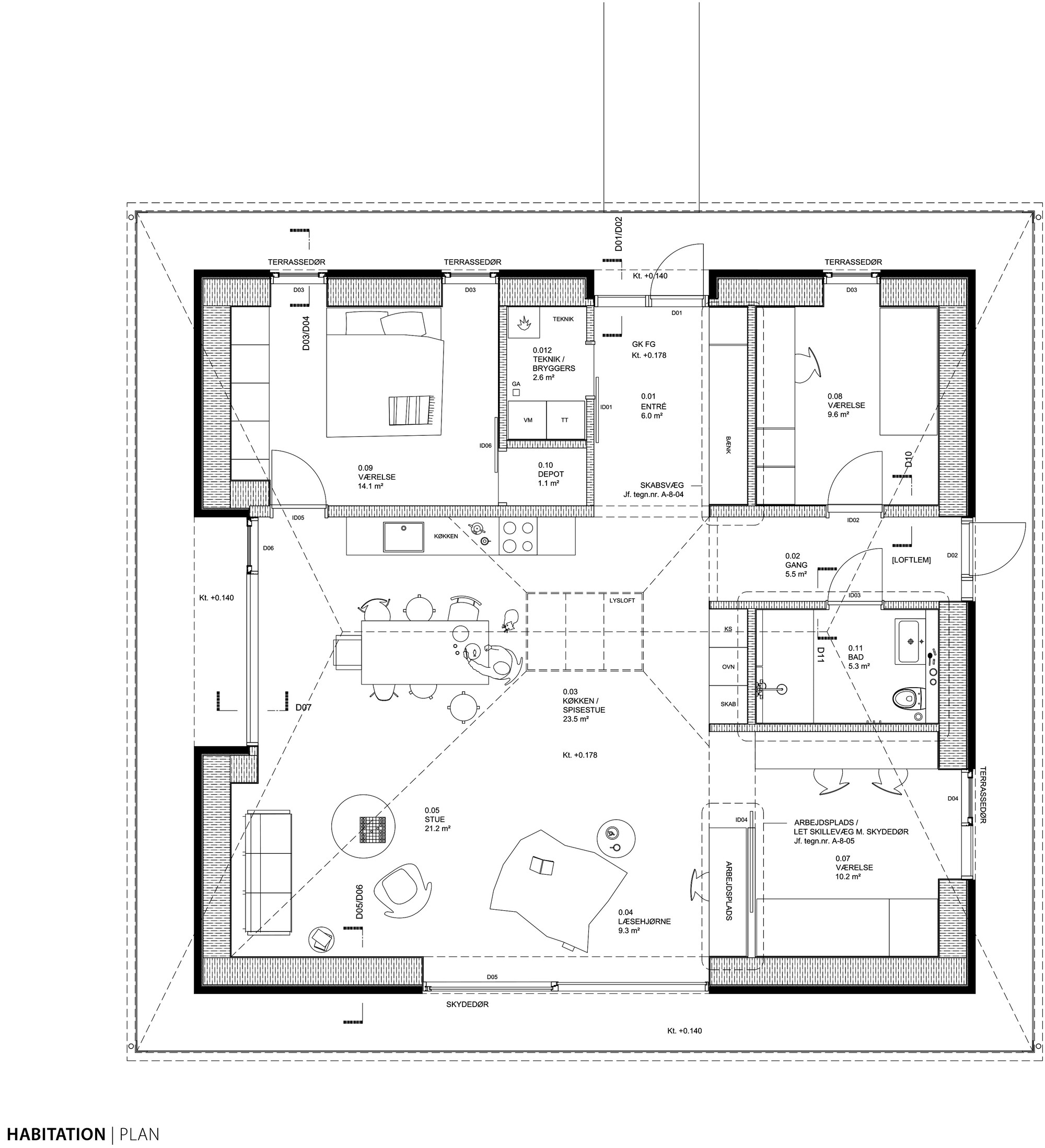 Brick House Floor Plans Of Gallery Of Brick House Leth Gori 19