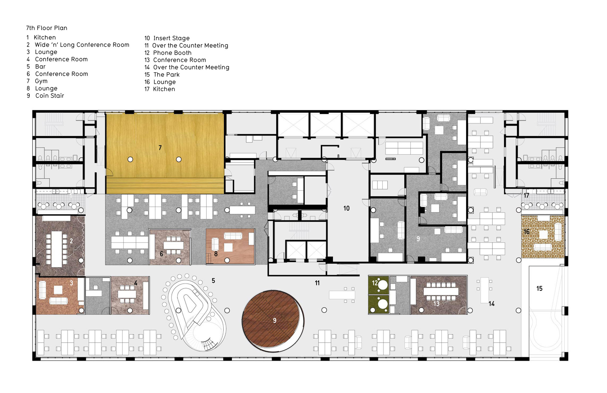 Furniture Layout Planner Gallery Of Wieden Kennedy Ny Workac 26