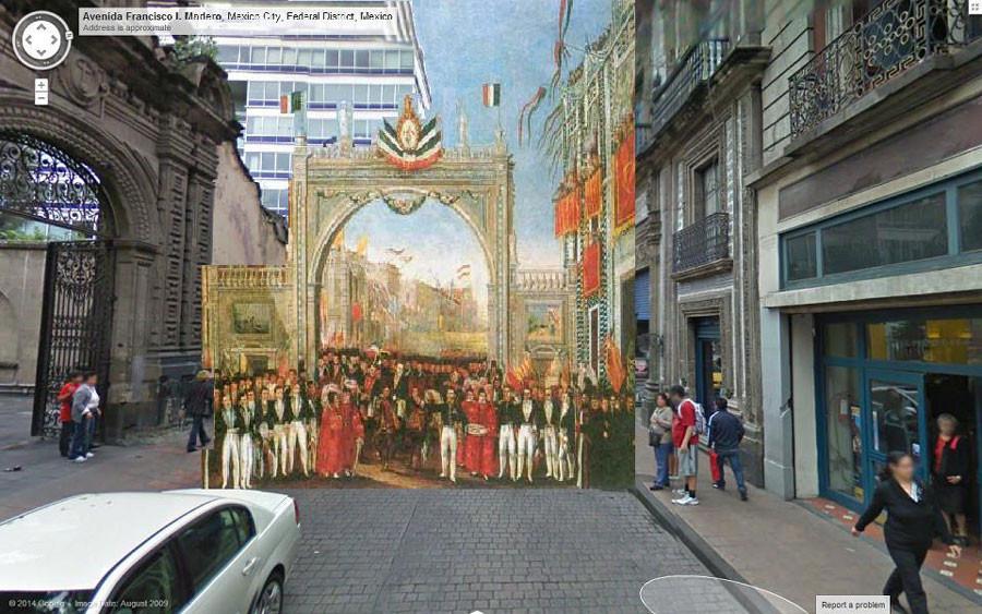 La Ciudad de México del siglo XIX en Google Street View, © José Ignacio Lanzagorta García
