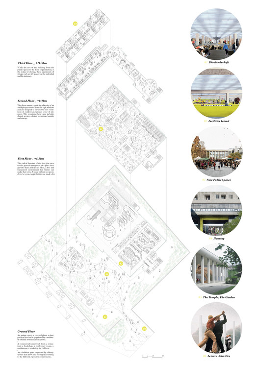 Third Prize: Fosbury (Giacomo Ardesio, Antonio Buonsante, Nicola Campri, Claudia Mainardi, Marco Taccagni. Image Courtesy of Young Architects Competitions