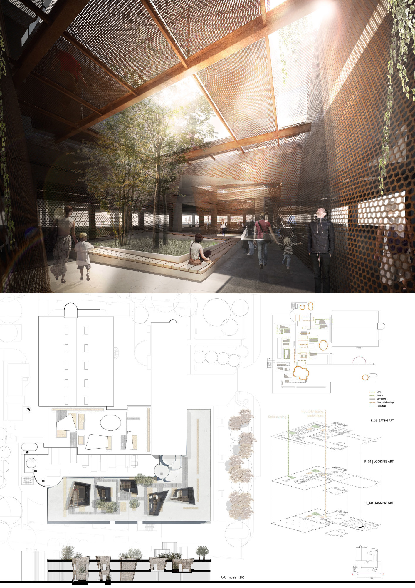 Free Medical Office Floor Plans Gallery Of Competition Asks Young Architects To Transform