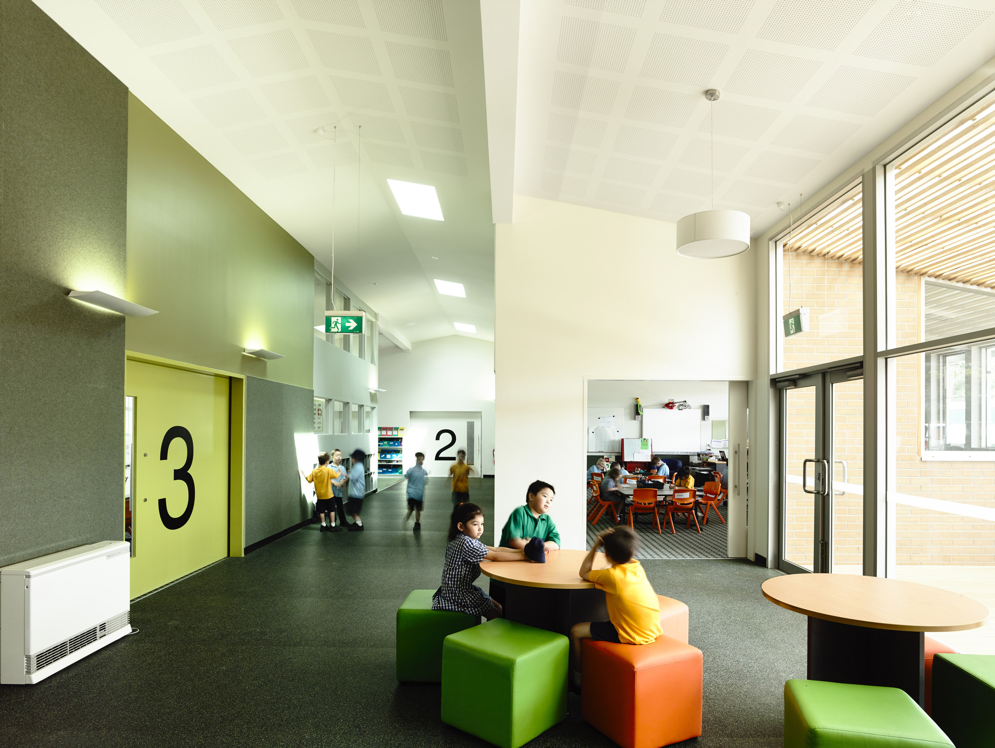 Classroom Design For The Blind ~ Birralee primary school kerstin thompson architects