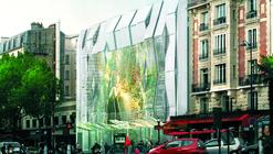 """Manuelle Gautrand renueva el Cine Alésia de Paris con cientos de """"pixeles"""" LED"""