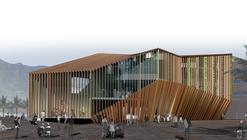 Primer Lugar Biblioteca y Centro Polivalente de Fuerteventura / Islas Canarias, España