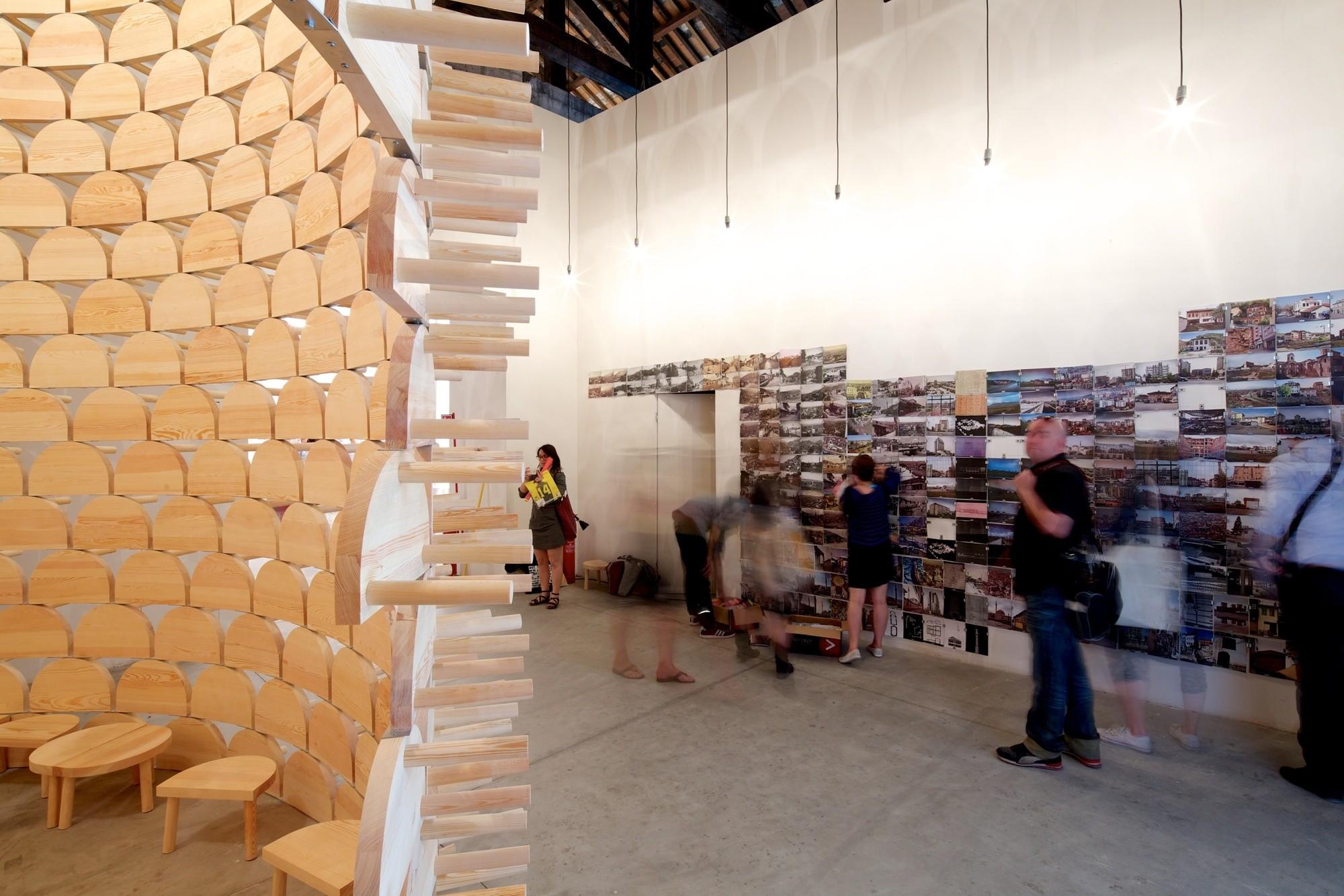 'Visibility (Imposed Modernity)' – Kosovo's Pavilion at the Venice Biennale 2014. Image © Nico Saieh
