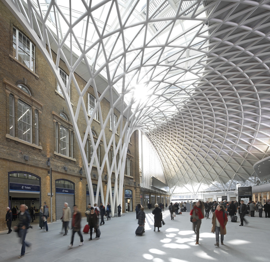Estación King's Cross / John McAslan + Partners. Imágen © Hufton+Crow