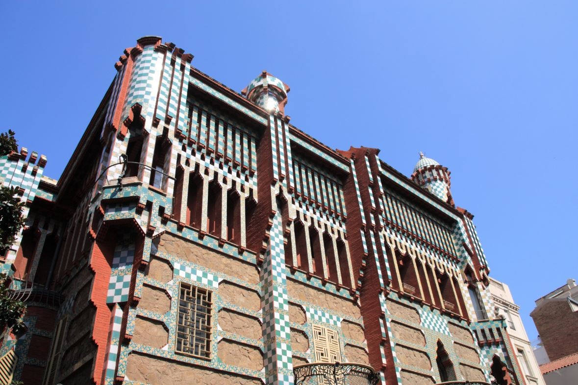 A gaud guide to barcelona archdaily for Casa vicens gaudi