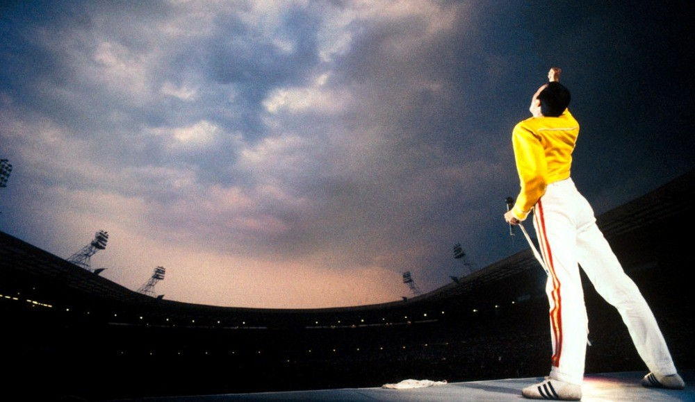 Freddie Mercury en Wembley. Image © Vía Blog Queenrockband.