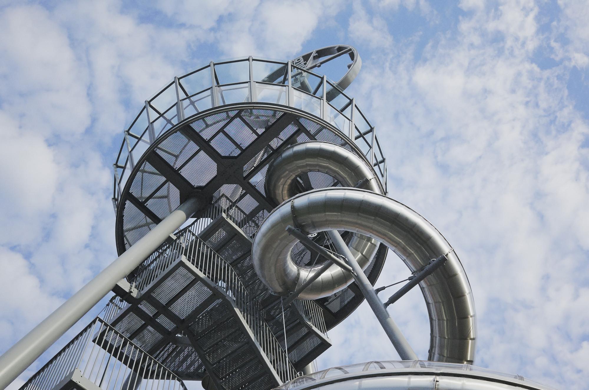 Vitra Slide Tower / Carsten Höller. Imagen © Vitra