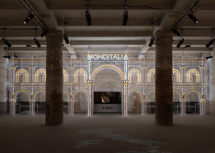 Luminarias. OMA en colaboración con Swarovski. Monditalia. Image © Gilbert McCarragher