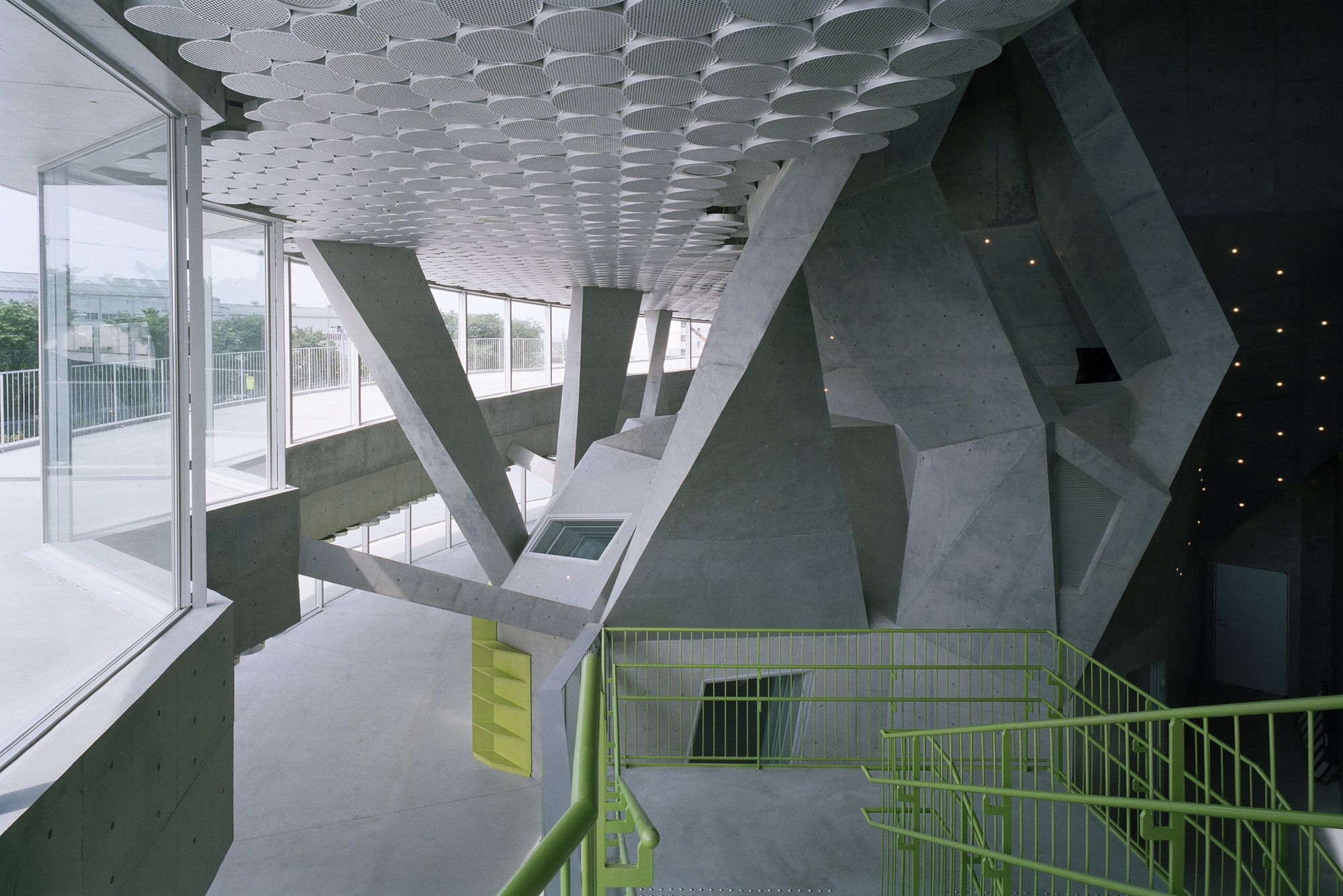 Foyer Architecture Gallery : Gallery of akiha ward cultural center chiaki arai urban