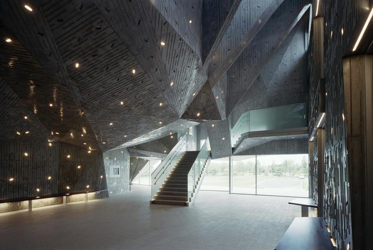 Centro Cultural Konan Ward de la Ciudad de Niigata / Chiaki Arai Urban and Architecture Design, © Taisuke Ogawa