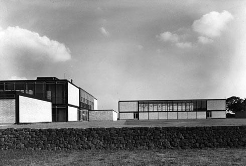 Hunstanton Secondary Modern School, Norfolk, 1949-1954