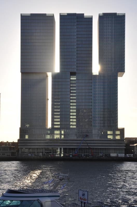 De Rotterdam / OMA. Imagen © Michel van de Kar