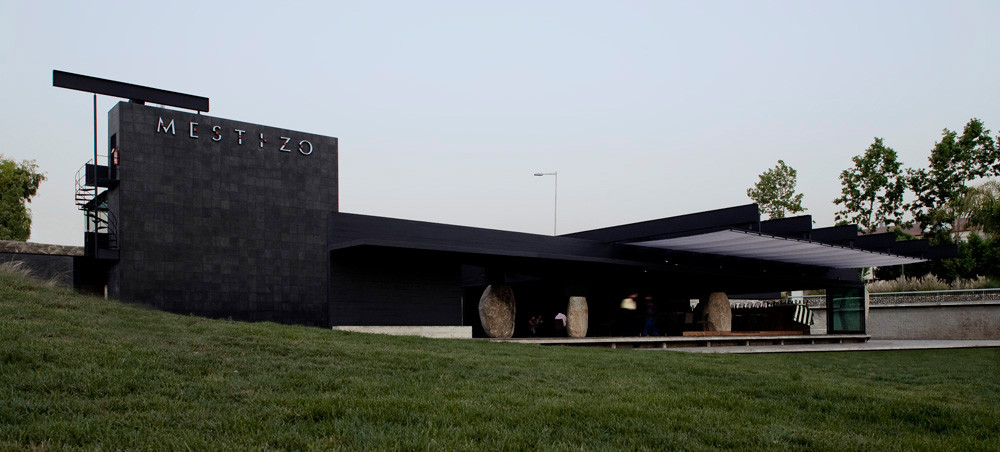 Restaurant Mestizo / Smiljan Radic. Image © Gonzalo Puga