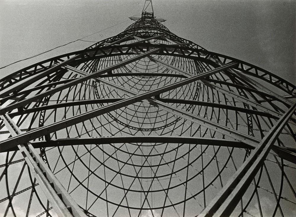 Shukhov Tower's Fate Put to a Vote, Aleksander Rodchenko, Shukhov Tower (1929)