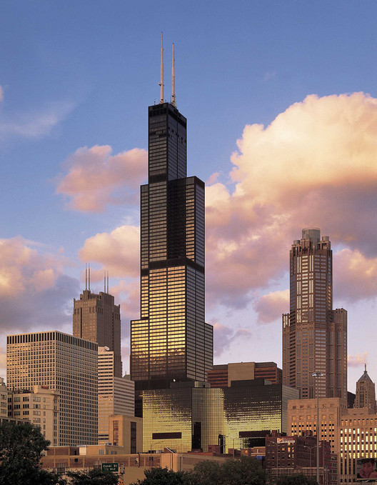 Willis Tower (Sears Tower) / SOM. Image © Flickr CC User skydeckchicago