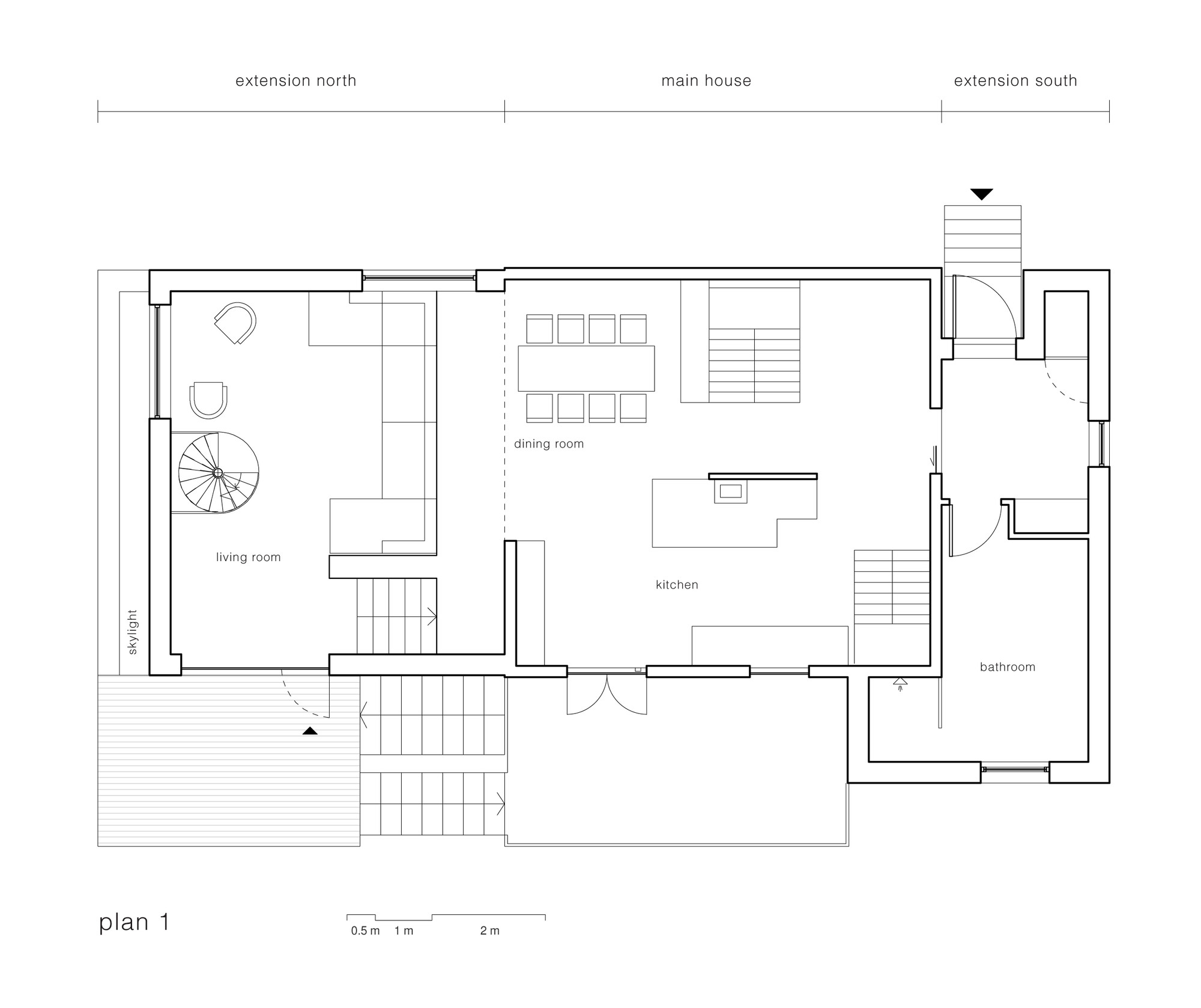 feisteinveien rever drage architects archdaily floor plan