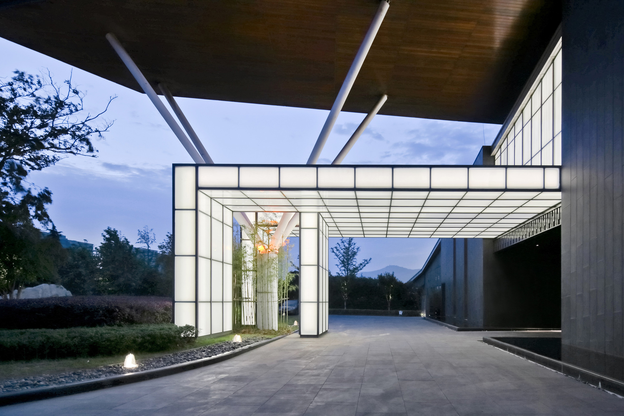 Gallery of jiahe boutique hotel shangai dushe for Hotel architecture