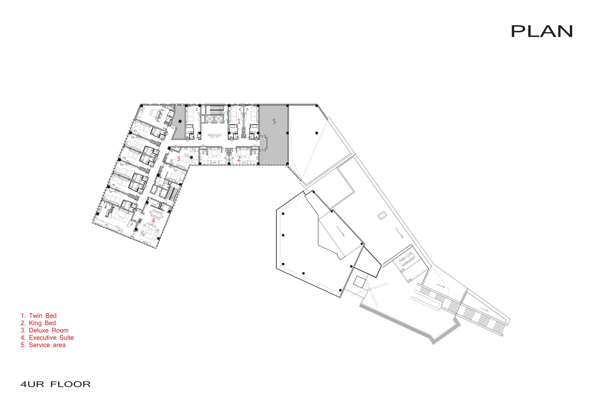 Organic Architecture Floor Plans Gallery Of Jiahe Boutique Hotel Shangai Dushe