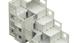"""En Detalle: Especial / Sistema de panel prefabricado """"KPD"""""""