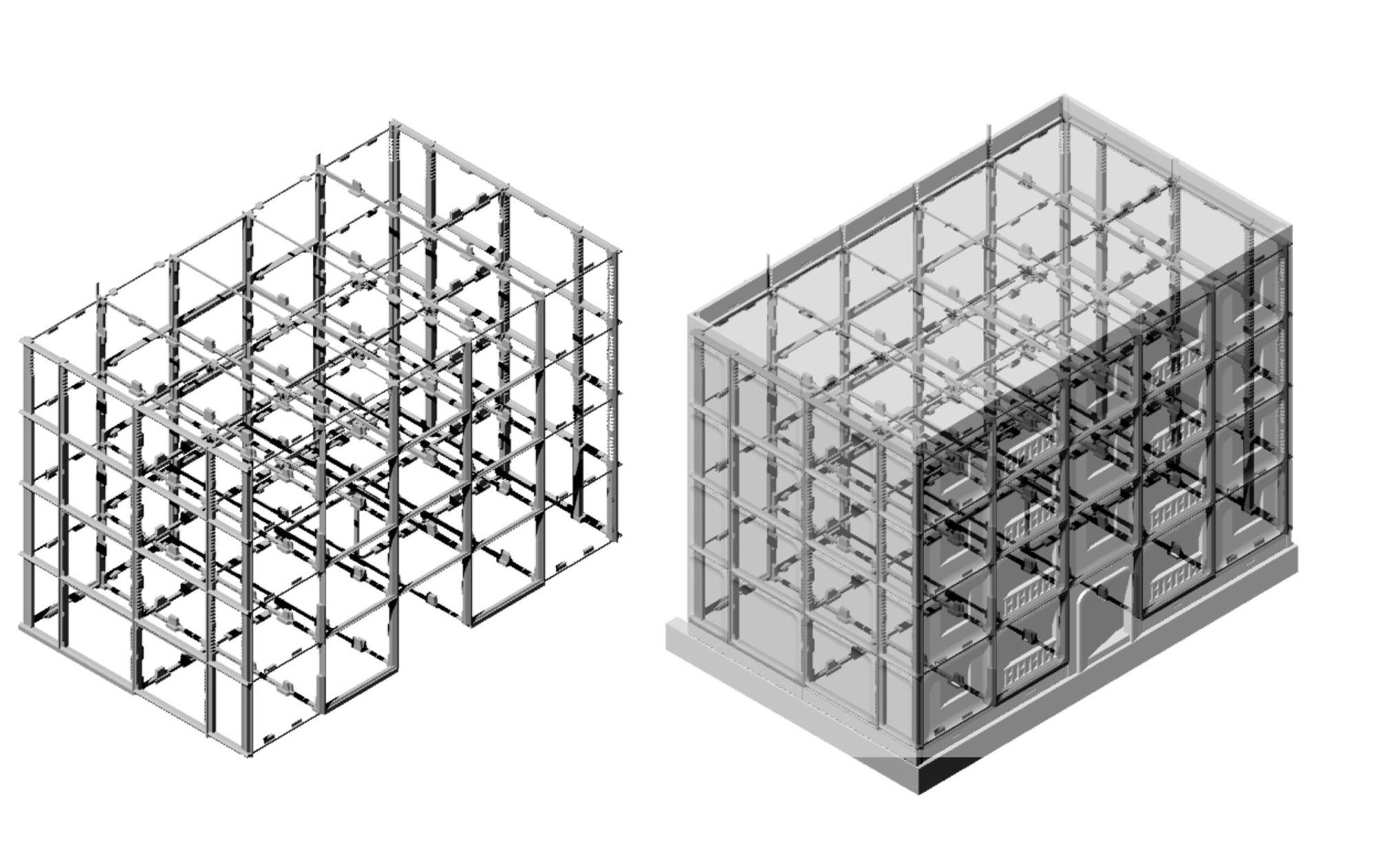 """Diagrama de ensamblaje. Sistema """"KPD"""", Chile (1972)"""