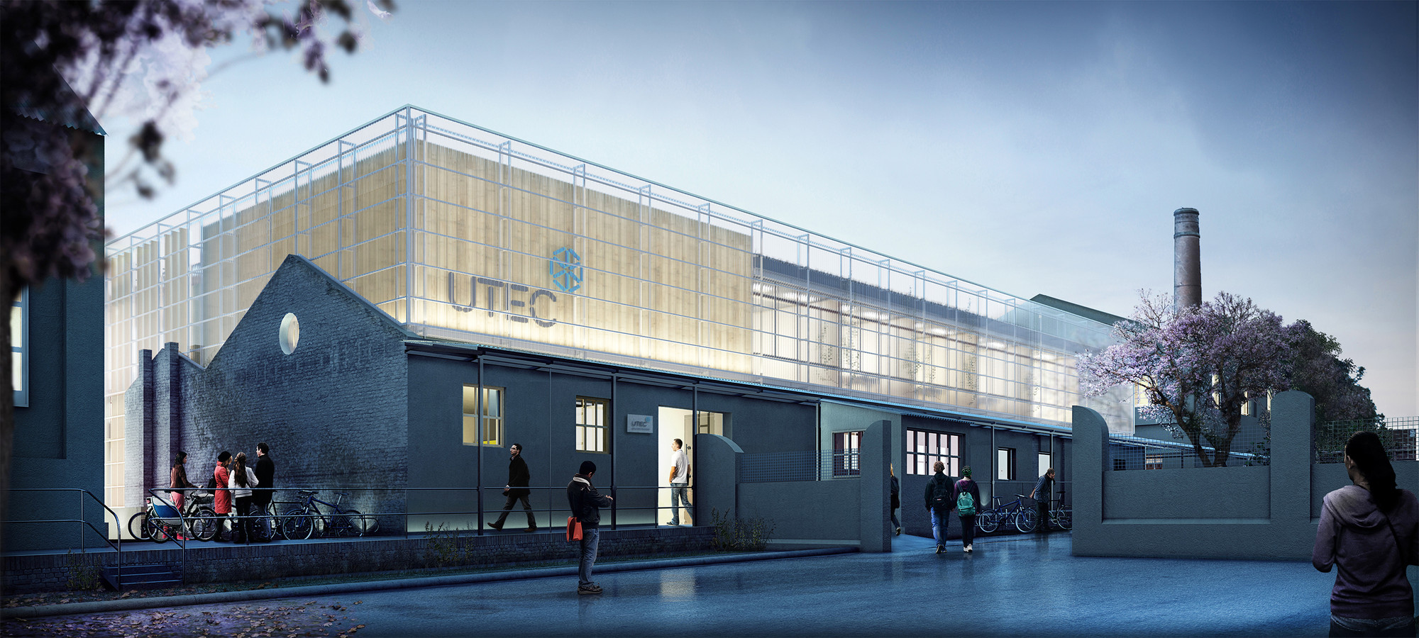 Utec tag plataforma arquitectura for Edificios educativos arquitectura