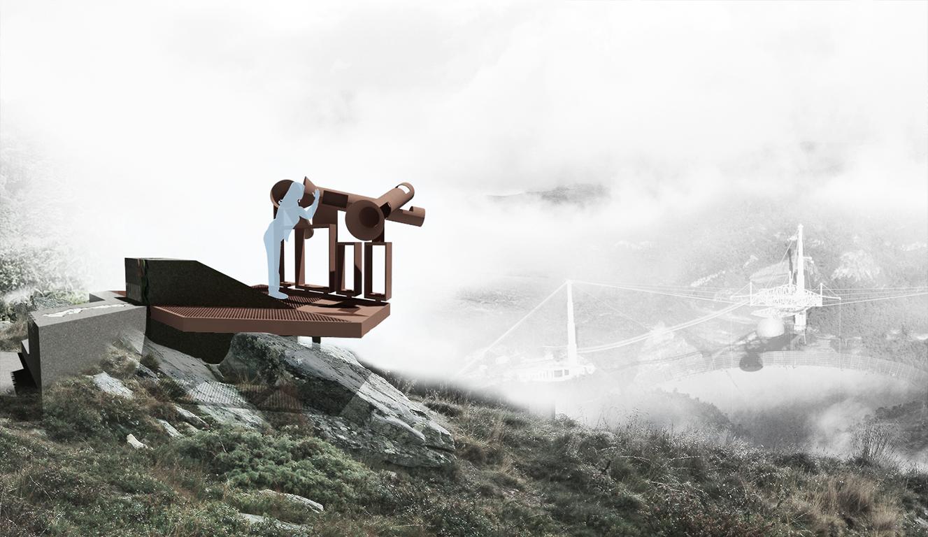 Plataforma Estación de Observación. Image Courtesy of hacedor:maker/arquitectos