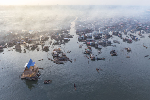 Makoko, Lagos, Nigeria (Featured: Makoko Floating School by NLE Architects). Image © Iwan Baan