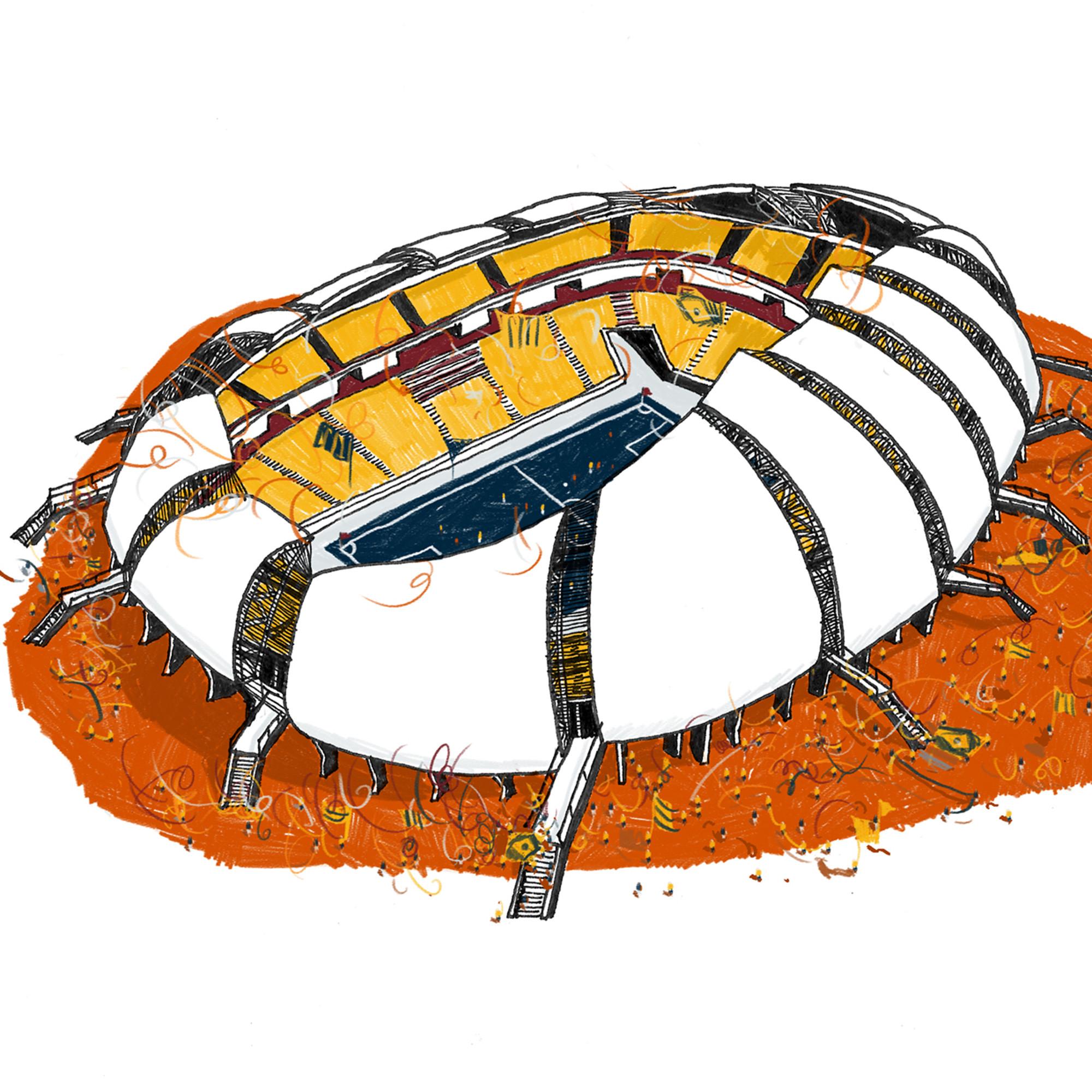 Arena das Dunas - Natal. Imagen Cortesía de Vapor 324