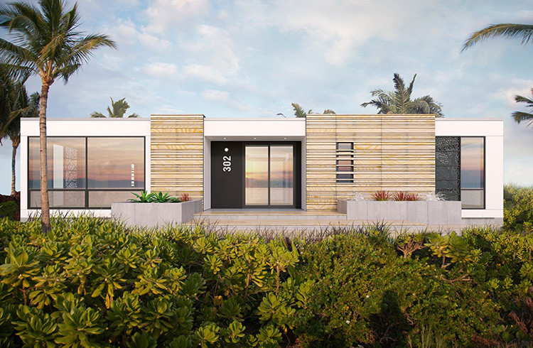 David Rockwell's Luxurious Pre-Fab Homes, © Rockwell Group