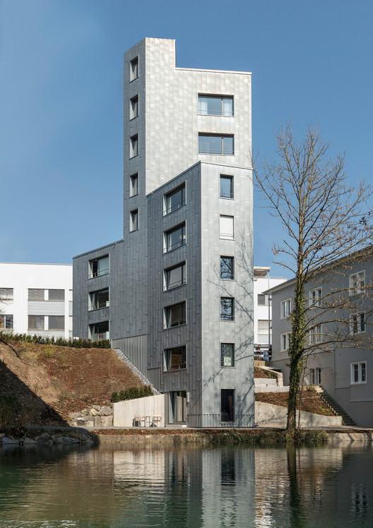 Freudenau Mill / Furrer Jud Architekten, © Benedikt Redmann