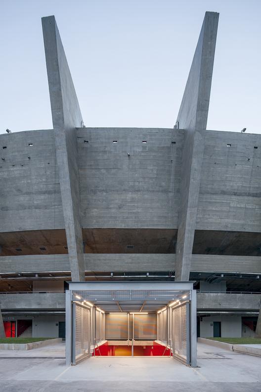 Estadio Mineirão en Belo Horizonte. Image © Leonardo Finotti